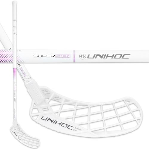 UNIHOC STICK EPIC SUPERSKIN REG FL 29 white/purp