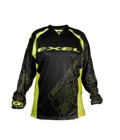 EXEL G1 GOALIE JERSEY #1 black/yellow