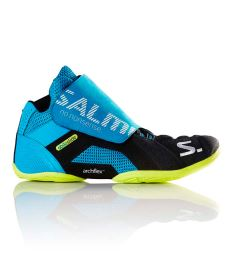 SALMING Slide 5 Goalie Shoe Cyan/Black 38 EUR - Schuhe