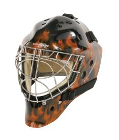 VAUGHN MASK 7700 CERT. CAT EYE flame graphic senior - M