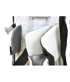 "Goalie pads VAUGHN GP VELOCITY V7 XF white/black youth - 22+2"" - Pads"