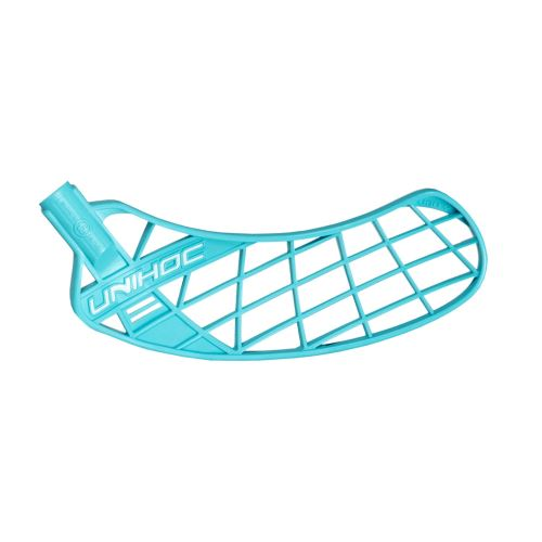 UNIHOC BLADE UNITY medium light turquoise R - Floorball Schaufel