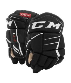 CCM HG JETSPEED FT1 black/white youth - 9""