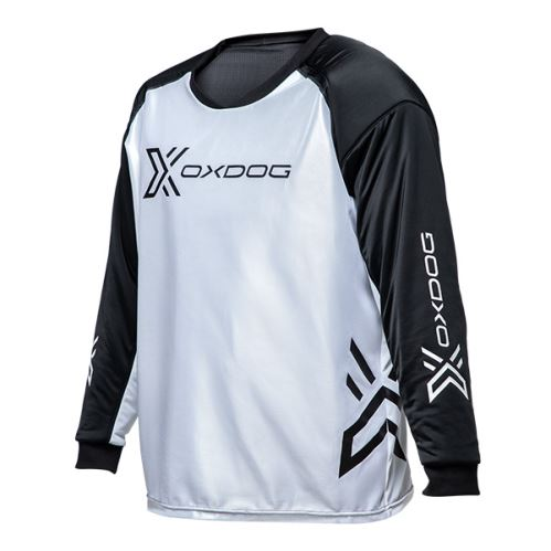 OXDOG XGUARD GOALIE SHIRT white/black, padding  M - Jersey