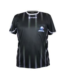 FREEZ REFEREE JERSEY SZFB BLACK  L - Referee
