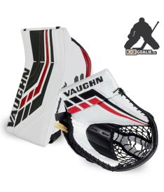SET VAUGHN BLOCKER + CATCHER VELOCITY VE8 PRO red - REG