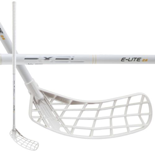 EXEL E-LITE WHITE 2.6 101 ROUND MB L - Floorball stick for adults