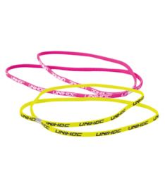 UNIHOC HAIRBAND TOTTI neon (yellow + CERISE)