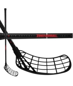 ZONE Stick MAKER Air SL 27 black/red 100cm
