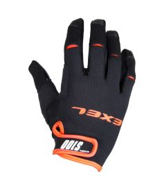 EXEL S100 GOALIE GLOVES SHORT black/orange 8/M - Gloves