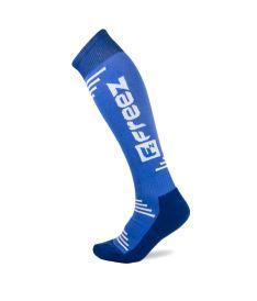 Sportovní podkolenky FREEZ QUEEN LONG SOCKS BLUE