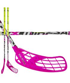 SALMING Quest5 X-Shaft KZ 96/107 R - Floorball stick for adults