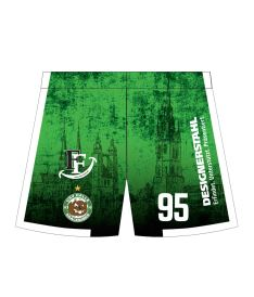 FREEZ SHORTS SUBLI MAN/KID - USV HALLE - green/white