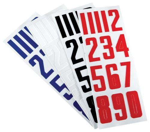 Čísla na helmu BAUER HELMET NUMBERS - Mřížky, plexi, příslušenství