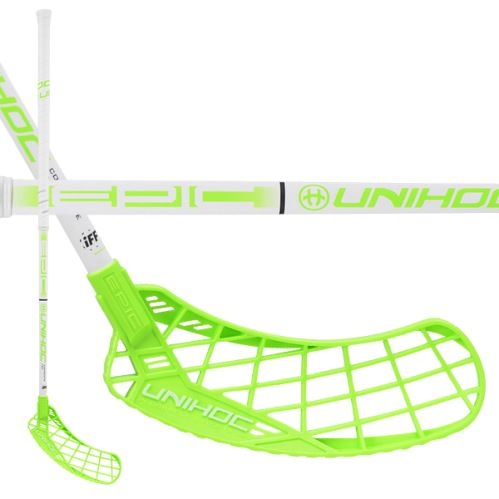 UNIHOC STICK EPIC Composite 29 white/green 100cm