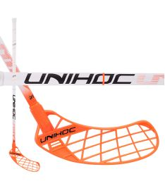 UNIHOC STICK Unity Feather Composite 28 white 92 cm