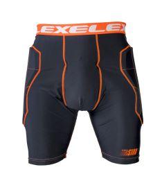 EXEL S100 PROTECTION SHORT black/orange XL - Pads and vests