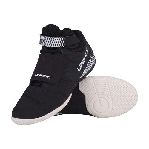 UNIHOC Shoe U4 Goalie black - Schuhe