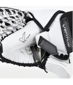 Goalie catch glove VAUGHN CATCHER VENTUS LT68 white/blue junior - FR - Catch gloves