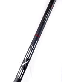 EXEL IMPACT BLACK 2.9 96 DROP OVAL MB R - Floorball stick for adults