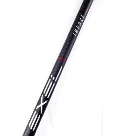 EXEL IMPACT BLACK 2.9 96 DROP OVAL MB L - Floorball-Schläger für Erwachsene