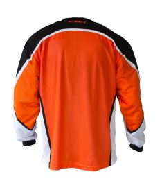 EXEL S100 GOALIE JERSEY orange/black - Jersey