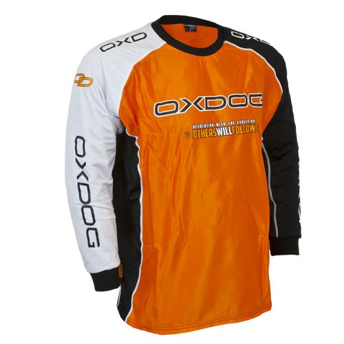 OXDOG TOUR GOALIE SHIRT ORANGE, padding - Pullover