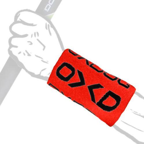OXDOG TWIST LONG WRISTBAND red/black - Schweißbänder