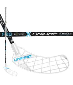 UNIHOC STICK UNITY TEXTREME CURVE 2.0º 26 blue 100cm L-17 - Floorball stick for adults