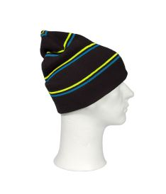 OXDOG JOY WINTER HAT black/turquoise/yellow - Caps and hats