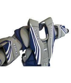 VAUGHN CHEST & ARMS VENTUS SLR PRO blue/silver/white senior - Arm + chest