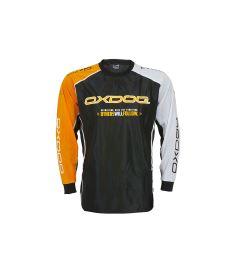 OXDOG TOUR GOALIE SHIRT BLACK/OR, no padding - Pullover