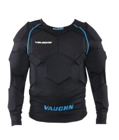 VAUGHN VELOCITY V9 GOALIE PADDED COMPRESSION SHIRT black senior
