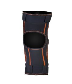 EXEL S100 KNEE GUARD senior black/orange - Schoner und Schutzwesten