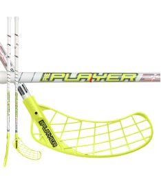 UNIHOC STICK REPLAYER STL 29 white/neon yellow 100cm L - Floorball-Schläger für Erwachsene