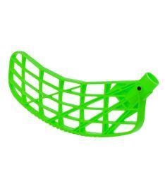 Florbalová čepel EXEL VISION MB neon green L - florbalová čepel