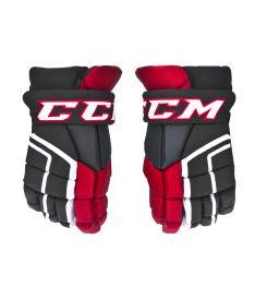 """Hokejové rukavice CCM 26K black/red/white senior - 14"""""""