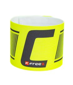 Kapitánská páska FREEZ CAPTAIN'S BAND neon yellow