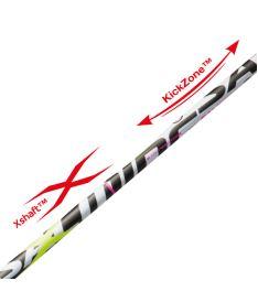 SALMING Quest5 X-Shaft KZ 96/107 - Floorball stick for adults