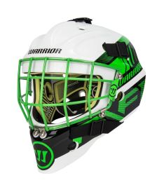 WARRIOR RITUAL F1 GOALIE MASK white/neon green youth