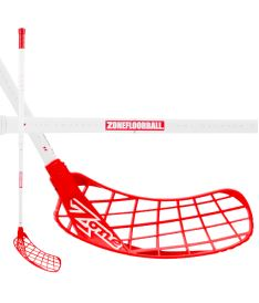 ZONE STICK HYPER AIR SL 27 white/red 100cm (D+)