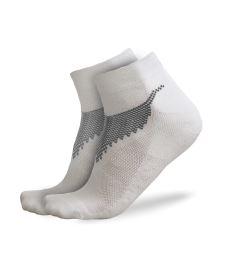 Sportovní ponožky FREEZ ANCLE SOCKS 2-pack white