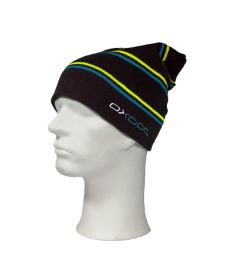 Čepice OXDOG JOY WINTER HAT black/turquoise/yellow