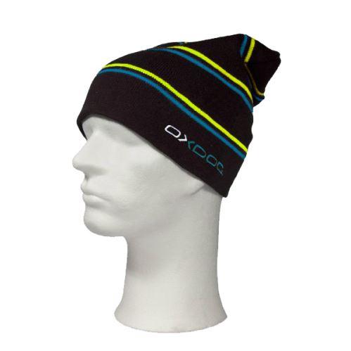 OXDOG JOY WINTER HAT black/turquoise/yellow