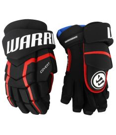 Hokejové rukavice WARRIOR COVERT QRL5 black/red/white senior