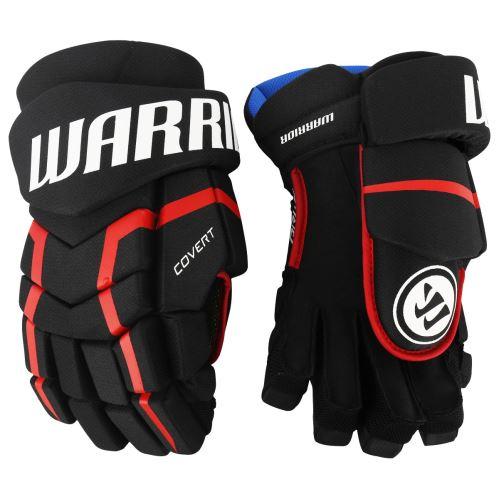 Hokejové rukavice WARRIOR COVERT QRL5 black/red/white senior - Rukavice