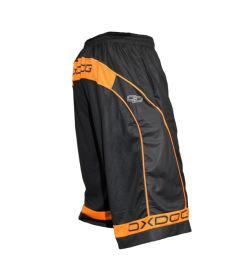 Sportovní kraťasy OXDOG RACE LONG SHORTS senior black/orange - Trenýrky
