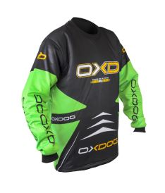 OXDOG VAPOR GOALIE SHIRT junior black/green