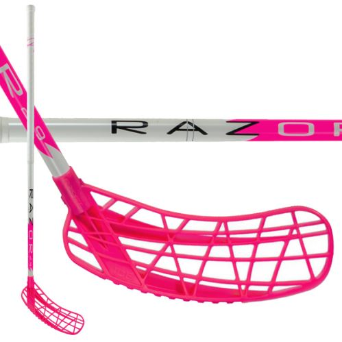 EXEL RAZOR PINK 2.9 101 ROUND SB L - Floorball stick for adults