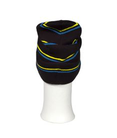 OXDOG JOY WINTER HAT black/turquoise/yellow - L/XL - Caps and hats